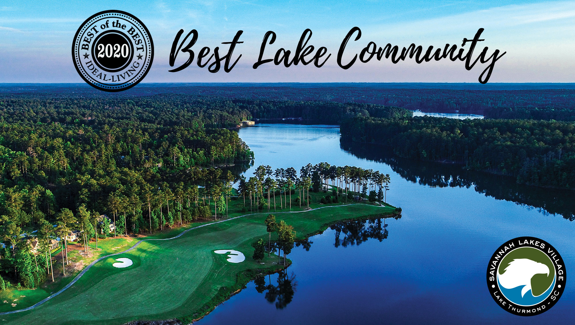 ideal-LIVING Magazine Names Savannah Lakes a 2020 Best Lake Community