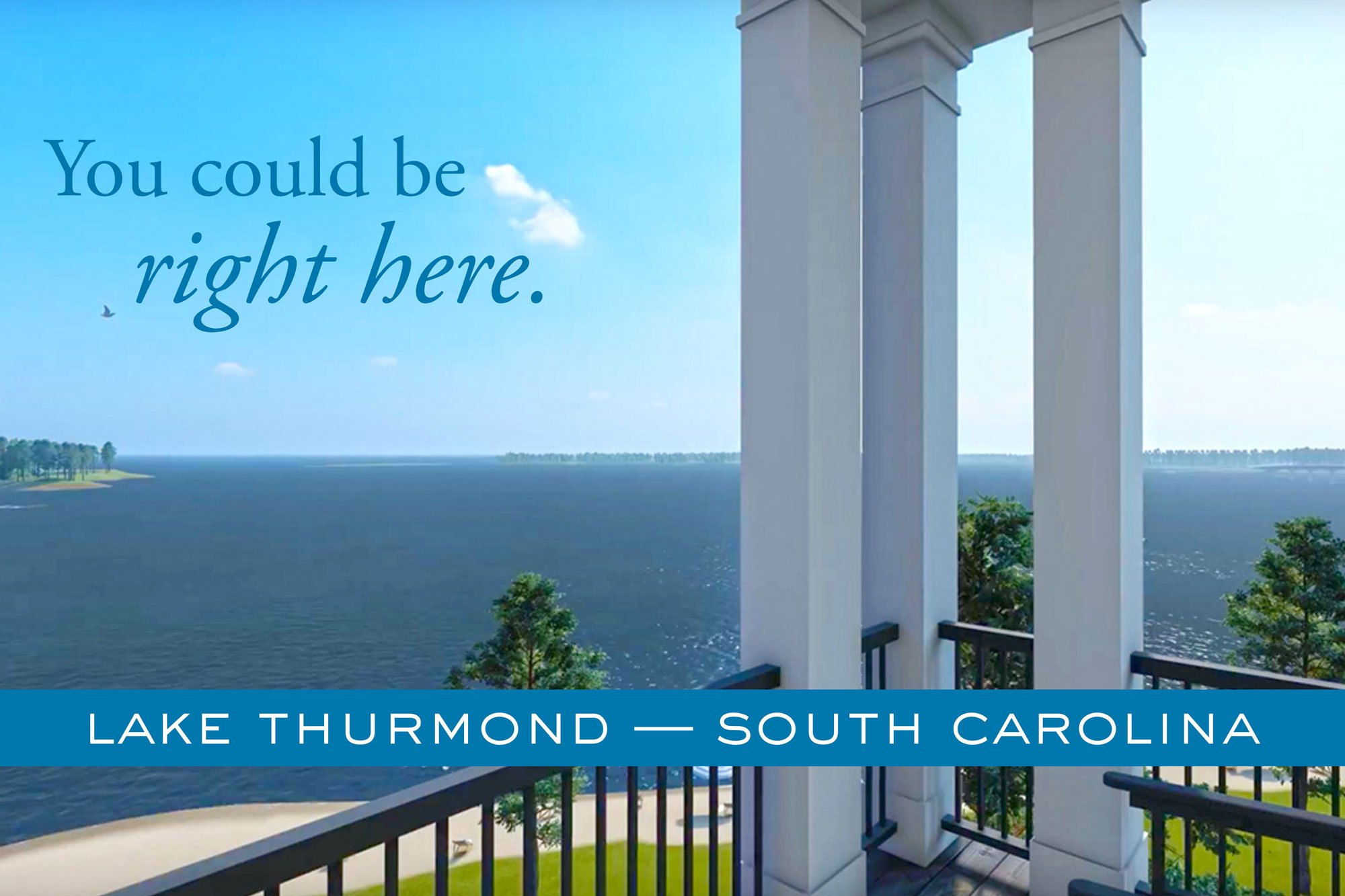 A New Way to Live at the Lake: Lakefront Condos on Lake Thurmond