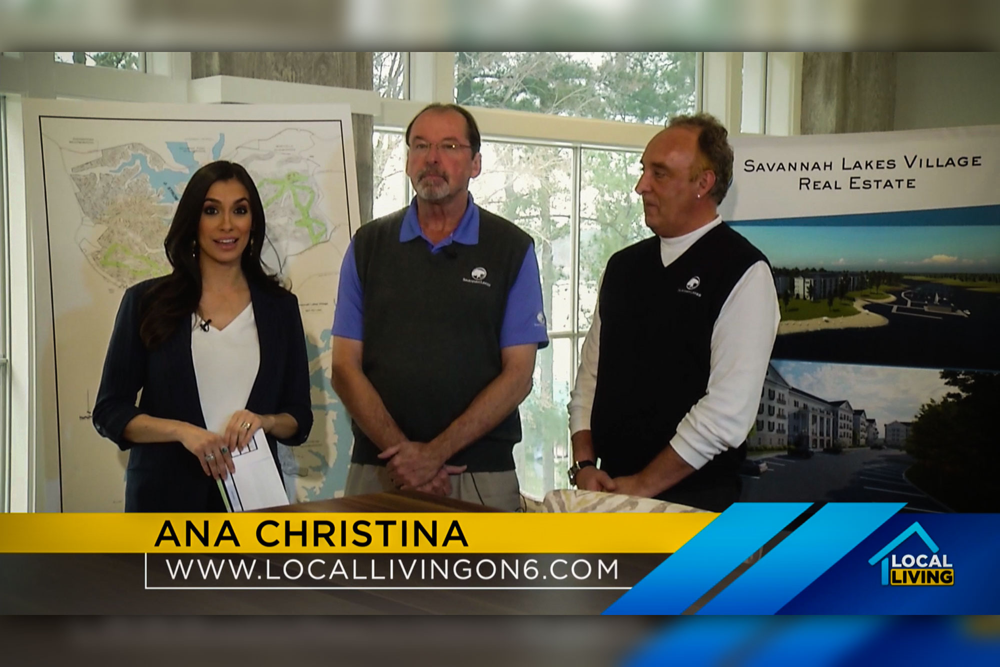 "WJBF's ""Local Living"" Segment with Our Developer"